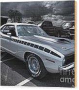 1970 Aar Barracuda Wood Print