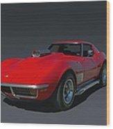 1970 Chevrolet Corvette 454 Stingray Wood Print