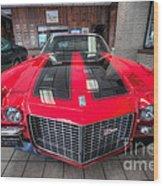 1970 Chevrolet Z28 Camaro Wood Print