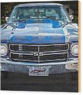 1970 Chevy Chevelle 454 Ss   Wood Print