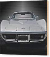 1970 Corvette Stingray Studio Wood Print