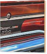 1970 Dodge Charger 500  Wood Print