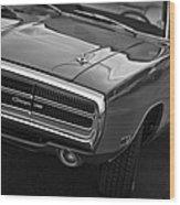 1970 Dodge Charger Wood Print