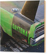 1970 Dodge Daytona Charger Wood Print