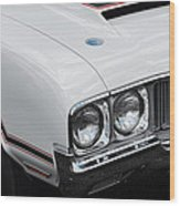 1970 Olds Cutlass 442  Wood Print
