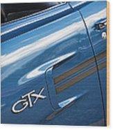1970 Plymouth Gtx 440 Wood Print