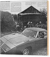 1970 Plymouth Superbird - Announcing A New Kind Of Runner Wood Print