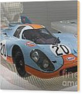 1970 Porsche 917 Kh Coupe Wood Print