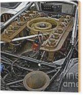 1970 Porsche 917k Engine Wood Print