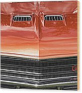 1971 Buick Gs Sport Coupe Wood Print