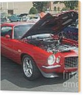 1971 Chevrolet Camaro Wood Print