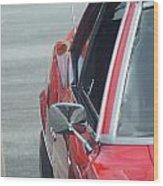 1971 Chevy Camaro Wood Print