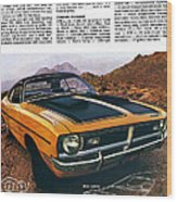 1971 Dodge Demon 340 Wood Print
