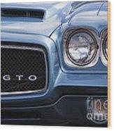 1971 Gto Wood Print