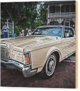 1971 Lincoln Continental Mark IIi Painted  Wood Print