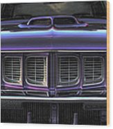 1971 Plymouth 'cuda 440 Wood Print by Gordon Dean II