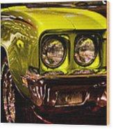 1972 Buick Skylark Custom Convertible Wood Print