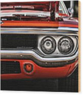 1972 Plymouth Road Runner Wood Print