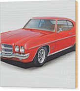 1972 Pontiac Lemans Wood Print