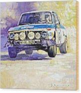 1973 Rallye Of Portugal Bmw 2002 Warmbold Davenport Wood Print