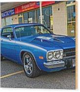 1974 Plymouth Roadrunner Wood Print