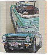 1975 Triumph Tr6 Wood Print