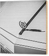 1976 Cadillac Eldorado Bw   Wood Print