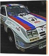 1976 Chevrolet Monza Imsa Wood Print by Phil 'motography' Clark