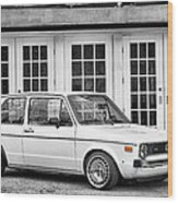 1979 Vw Rabbit IIi Wood Print
