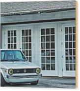 1979 Vw Rabbit Wood Print