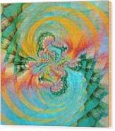 198004 Wood Print