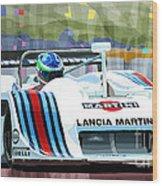 1982 Lancia Lc1 Martini Wood Print