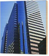 1984 New York Architecture No4 Wood Print