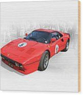1985 Ferrari 288 Gto Wood Print