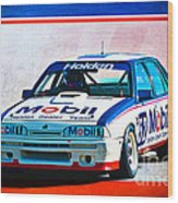 1987 Vl Commodore Group A Wood Print