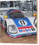 1989 Aston Martin Amr1/4 Wood Print