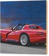 1995 Dodge Viper II Wood Print