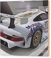 1996 Porsche 911 Gt1 Wood Print