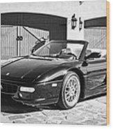 1997 Ferrari F 355 Spider -008bw Wood Print