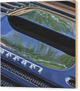 1997 Ferrari F 355 Spider Rear Emblem -117c Wood Print