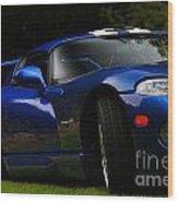 1997 Viper Hennessey Venom 650r 2 Wood Print