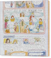 1998: A Look Back Wood Print