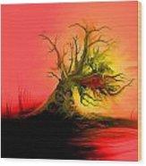 1998003 Wood Print
