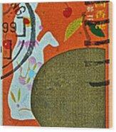 1999 Hong Kong Lunar New Year Stamp Wood Print