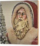 19th Century Santa Claus Wood Print