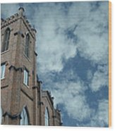 Church Architecture Wood Print