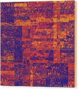 0171 Abstract Thought Wood Print