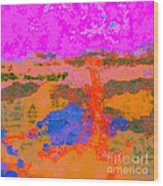 0173 Abstract Thought Wood Print