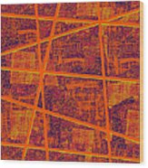 0191 Abstract Thought Wood Print