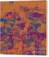 0199 Abstract Thought Wood Print